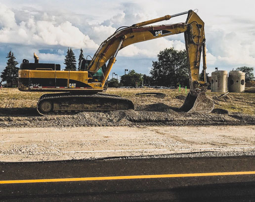 Courthland Construction Road Repair image