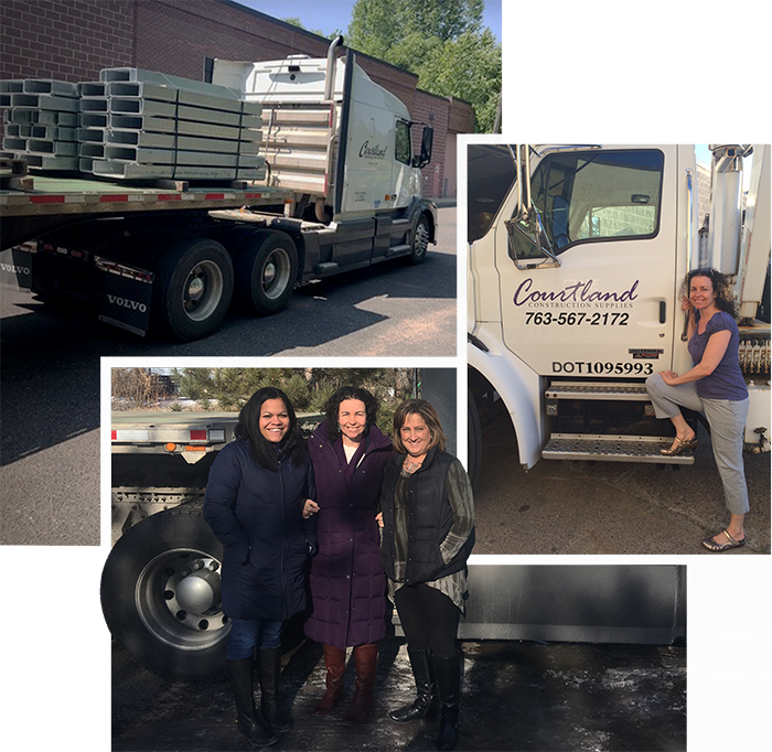 Courtland Construction Semi Truck